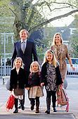 Eerste schooldag prinses Ariane