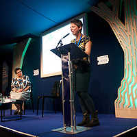 Jen Hadfield reading at the 2014 Edwin Morgan Poetry Award at the Edinburgh International Book Festival on 16th August 2014 <br /> <br /> Picture by Alan McCredie/Writer Pictures<br /> <br /> WORLD RIGHTS