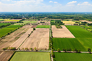 Nederland, Noord-Brabant, Gemeente Sint-Oedenrode, 27-05-2013; Schijndelse heide, ontgonnen woeste grond ten noorden van de Scheidingsweg. Tussen Schijndel en Sint Oederode.<br /> Heather, reclaimed wasteland in Southern Holland.<br /> luchtfoto (toeslag op standard tarieven);<br /> aerial photo (additional fee required);<br /> copyright foto/photo Siebe Swart.
