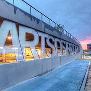 The Arts District Garage at the Kauffman Center, Kansas City, Missouri.