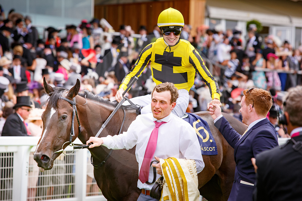 Different League (A. Hamelin) wins The Albany Stakes Gr.3, Royal Ascot 23/06/2017, photo: Zuzanna Lupa / Racingfotos.com