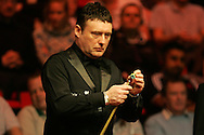 Jimmy White of England. Welsh Open Snooker at the Newport Centre, Feb 2009