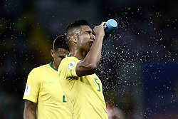 June 27, 2018 - Moscow, Russia - Casemiro during the 2018 FIFA World Cup Russia group E match between Serbia and Brazil at Spartak Stadium on June 27, 2018 in Moscow, Russia. (Credit Image: © Mehdi Taamallah/NurPhoto via ZUMA Press)