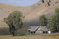 Historic Miller House on the National Elk Refuge