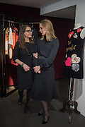 Anna Scolaro hosts a charity shopping event at  Dolce and Gabbana, 175 Sloane St. London. In aid of TeamFox.org for Parkinsons. 10 February 2016