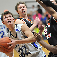2.18.2014 North Olmsted at Midview Boys JV Basketball