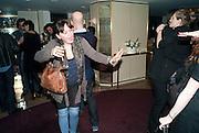 LAURA K.JONES; , Polly Morgan 30th birthday. The Ivy Club. London. 20 January 2010