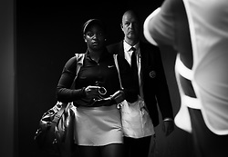 May 9, 2019 - Madrid, MADRID, SPAIN - Sloane Stephens of the United States on her way to the court for her quarter-final match at the 2019 Mutua Madrid Open WTA Premier Mandatory tennis tournament (Credit Image: © AFP7 via ZUMA Wire)
