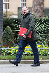 © Licensed to London News Pictures. 10/03/2015. London, UK. Ed Davey arrives for a cabinet meeting at 10 Downing Street in London on Tuesday 10th March 2015. Photo credit : Vickie Flores/LNP