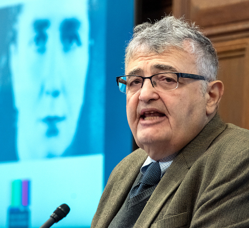 © Photo by Mara Lavitt<br /> November 4, 2019<br /> Sterling Memorial Library lecture hall, Yale University, New Haven.<br /> <br /> Fortunoff Video Archive for Holocaust Testimonies held an all-day conference on Rokhl Oyerbakh.