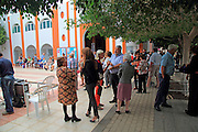 People at Candelaria 2016 fiesta, Gran Tarajal, Fuerteventura, Canary Islands, Spain