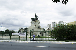 April 17, 2018 - SãO Paulo, Brazil - SÃO PAULO, SP - 17.04.2018: INDEPENDENCE PARK AFTER REOPENING - Conditions and janitorial services of the Independence Park after its reopening. The Park was closed due to the yellow fever and reopened last Saturday (14) (Credit Image: © Tomas Giuzio/Fotoarena via ZUMA Press)