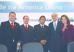 """Autoridades durante a abertura oficial da HOSPITALAR 2007, que acontece de 12 a 15 de junho de 2007, no Expo Center Norte, em S""""o Paulo. FOTO: Jefferson Bernardes/Preview.com"""