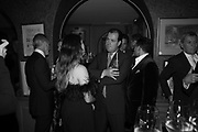 ALISSON DAVIES; DUNCAN MACINTYREPedro Girao of Christies and Duncan Macintyre of Lombard Odier host the last dinner at the Old Annabels. 44 Berkeley Sq. London. 15 November 2018