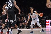 Matteo Montano<br /> Segafredo Virtus Bologna - Kontatto Fortitudo Bologna<br /> Campionato Basket LNP 2016/2017<br /> Bologna 06/01/2017<br /> Foto Ciamillo-Castoria
