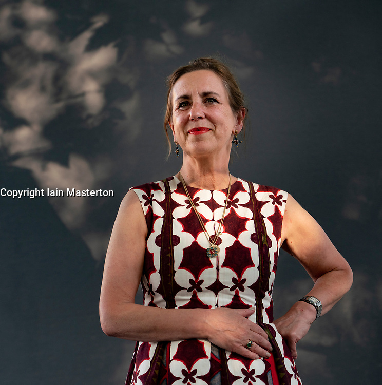 Edinburgh, Scotland, UK. 24 August 2019. Kirsty Wark.   Broadcaster Kirsty Wark's new book, The House by the Loch is a family mystery set on the shores of Loch Doon. Iain Masterton/Alamy Live News.