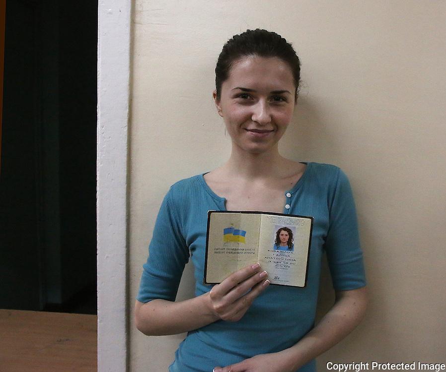 Ukraine Diary: Sunday 25 May 2014 Ukrainian Presidential Elections. Halyna Kovalchuk.<br /> Photo Bohdan Warchomij
