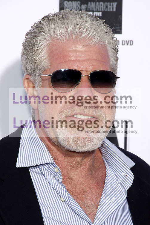 """Ron Perlman at the FX's Season 6 Premiere Screening of """"Sons Of Anarchy"""" held at the Dolby Theatre in Hollywood, USA on September 7, 2013."""