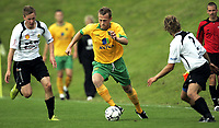 Fotball<br /> Treingskamp Friendly<br /> 19.07.08<br /> Sjövalla Stadion<br /> Ahlafors IF - Norwich City<br /> Sammy Clingan<br /> Foto - Kasper Wikestad