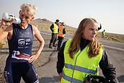 Iris Slappendel 7 tijdens de vijfde racedag. Het Human Power Team Delft en Amsterdam, dat bestaat uit studenten van de TU Delft en de VU Amsterdam, is in Amerika om tijdens de World Human Powered Speed Challenge in Nevada een poging te doen het wereldrecord snelfietsen voor vrouwen te verbreken met de VeloX 7, een gestroomlijnde ligfiets. Het record is met 121,81 km/h sinds 2010 in handen van de Francaise Barbara Buatois. De Canadees Todd Reichert is de snelste man met 144,17 km/h sinds 2016.<br /> <br /> With the VeloX 7, a special recumbent bike, the Human Power Team Delft and Amsterdam, consisting of students of the TU Delft and the VU Amsterdam, wants to set a new woman's world record cycling in September at the World Human Powered Speed Challenge in Nevada. The current speed record is 121,81 km/h, set in 2010 by Barbara Buatois. The fastest man is Todd Reichert with 144,17 km/h.