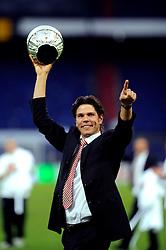 27-04-2008 VOETBAL: KNVB BEKERFINALE FEYENOORD - RODA JC: ROTTERDAM <br /> Feyenoord wint de KNVB beker - Patrick Lodewijks<br /> ©2008-WWW.FOTOHOOGENDOORN.NL