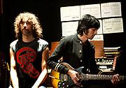 Xavier de Rosnay and Gaspard Augé Justice video shoot Paris - 07/11