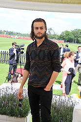 DOUGLAS BOOTH at the Audi International Polo Day held at Guards Polo Club, Smith's Lawn, Windsor on 22nd July 2012.