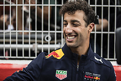 May 10, 2018 - Barcelona, Catalonia, Spain - 03 Daniel Ricciardo from Australia with Aston Martin Red Bull Tag Heuer RB14 portrait during the Spanish Formula One Grand Prix at Circuit de Catalunya on May 10, 2018 in Montmelo, Spain. (Credit Image: © Xavier Bonilla/NurPhoto via ZUMA Press)