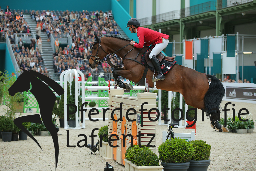 Schwizer, Pius, Powerplay<br /> Paris - Saut Hérmes 2013<br /> © www.sportfotos-lafrentz.de/Stefan Lafrentz