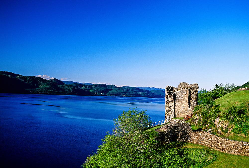 Urquhart Castle, Loch Ness,near Drumnadrochit, Scottish Highlands, Scotland