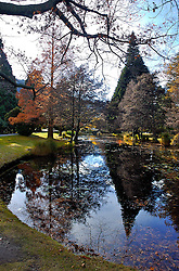 Queenstown Botanic Garden é um dos mais antigos de todo a Nova Zelândia. Situado junto ao lago Wakatipu, o jardim foi plantado em 1867. FOTO: Lucas Uebel/Preview.com