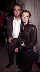 Actor EWAN MCGREGOR and his wife EVE, at an exhibition in London on 18th September 2000.OGZ 87
