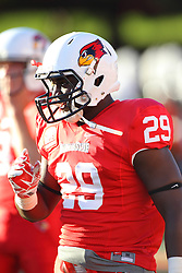 06 Sep 2014: Nate Bond during a non-conference NCAA football game between the Delta Devils of Mississippi Valley State and the Redbirds of Illinois State at Hancock Stadium in Normal Il