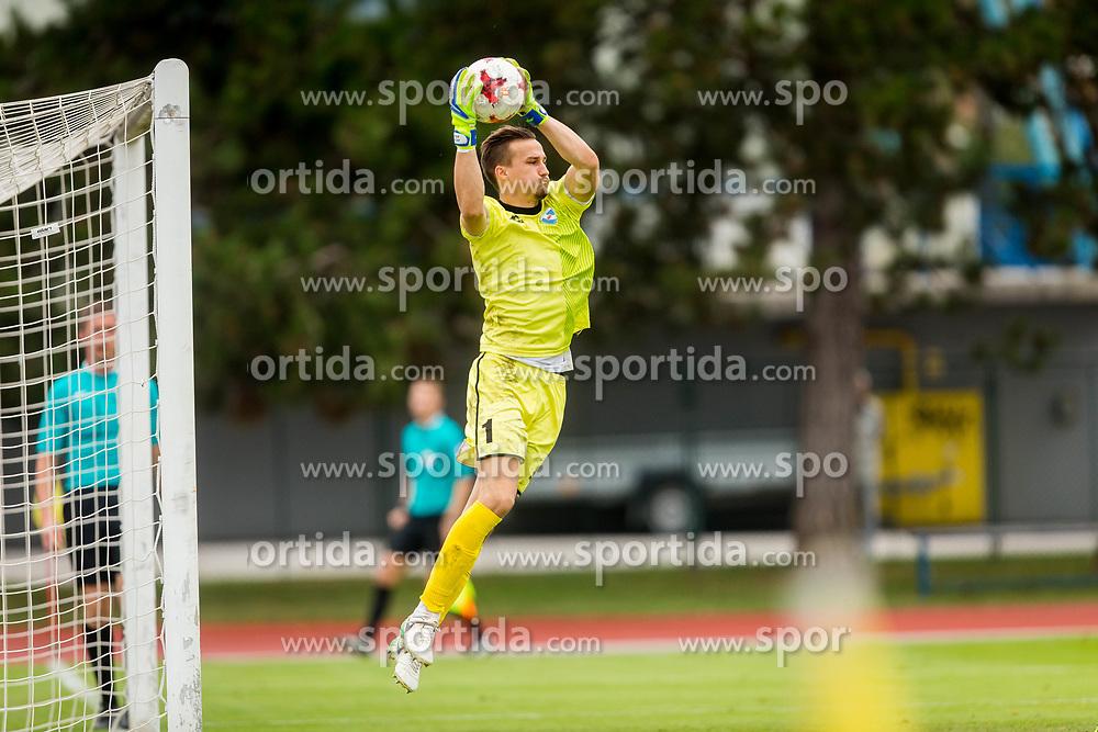 Grega Sorcan of ND Gorica during football match between NK Triglav Kranj and ND Gorica in 6th Round of Prva liga Telekom Slovenije 2017/18, on August 19, 2017 in Sports park Kranj, Kranj. Photo by Ziga Zupan / Sportida