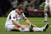 Photo: Paul Thomas/Sportsbeat Images.<br /> Bolton Wanderers v Aris Salonica. UEFA Cup. 29/11/2007.<br /> <br /> Kevin Nolan of Bolton thinks about his missed goal chance.