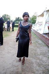 Actress and singer MICHELLE GAYLE at the annual Ham Polo Club Summer Ball held at the club, Petersham Road, Richmond, Surrey on 25th July 2008.<br /> <br /> NON EXCLUSIVE - WORLD RIGHTS