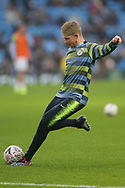 17 Kevin De Bruyne for Manchester City during the The FA Cup 3rd round match between Manchester City and Rotherham United at the Etihad Stadium, Manchester, England on 6 January 2019.
