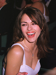 Actress LIZ HURLEY at a ball in London on 13th May 1999.MRZ 83