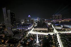 September 20, 2019, Singapore, Singapore: Motorsports: FIA Formula One World Championship 2019, Grand Prix of Singapore, ..General overview  (Credit Image: © Hoch Zwei via ZUMA Wire)
