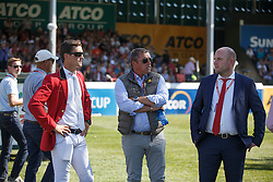 Philippaerts Olivier, (BEL), Philippaerts Ludo, (BEL), Knops Simon, (BEL) <br /> BMO Nations Cup<br /> Spruce Meadows Masters - Calgary 2015<br /> © Hippo Foto - Dirk Caremans<br /> 12/09/15