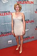 Premiere van de romantische komedie Brasserie Valentijn in Pathe Tuschibnski, Amsterdam.<br /> <br /> Op de foto:  Marlijn Weerdenburg