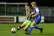 Forest Green Rovers Alfie Saunders(32) during the FA Youth Cup match between Forest Green Rovers and Helston Athletic at the New Lawn, Forest Green, United Kingdom on 29 October 2019.