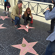 Jane Seymour was reduced to cleaning her own star on the walk of fame <br /> <br /> Screen icon Jane Seymour OBE - may have won Emmys and Golden Globes and been knighted by the Queen of England - but yesterday she was reduced to cleaning her own star on the walk of fame with a tissue! Down on her hands and knees polishing her own star<br /> ©Exclusivepix Media