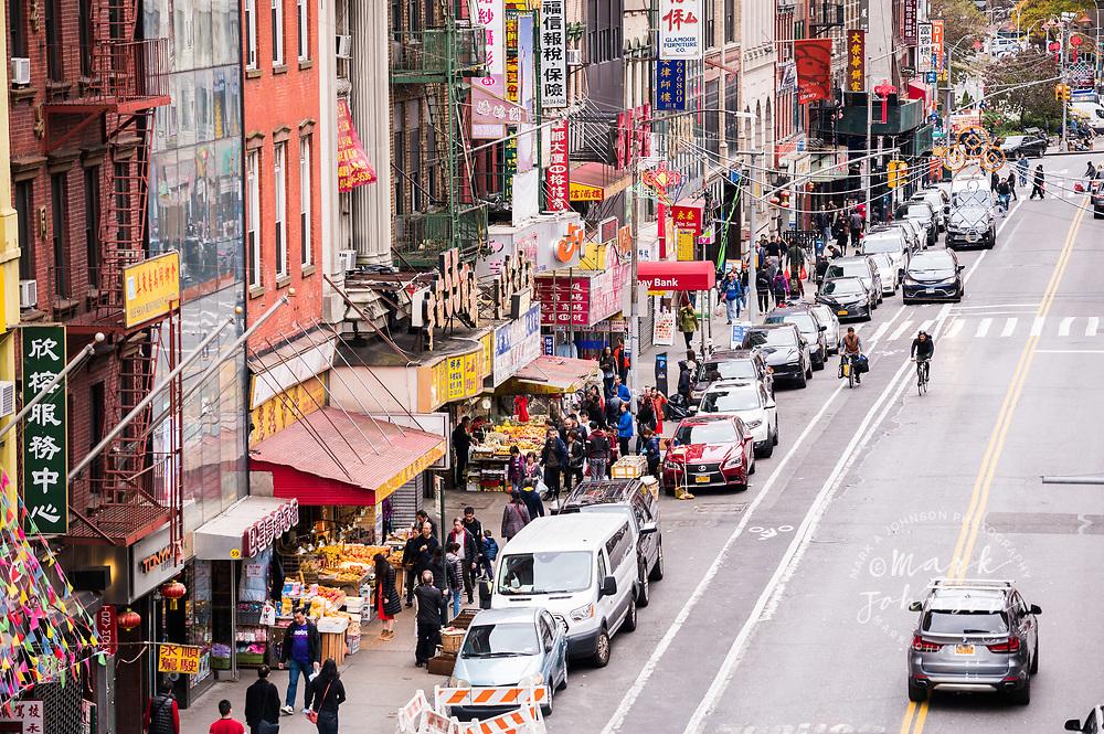 East Broadway, Chinatown, Manhattan, New York, New York, USA