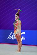 Katsiaryna Halkina from Belarus, she was born in Minks in 1997.Halkina went to the 2016 Olympics in Rio de Janeiro obtaining the sixth place.