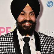 Presenter of Roko Cancer attend the BritAsiaTV Presents Kuflink Punjabi Film Awards 2019 at Grosvenor House, Park Lane, London,United Kingdom. 30 March 2019