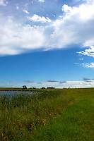Midwest Summer Sky Panorama. Rest Area along Interstate 29 in South Dakota. Image 9 of 9 taken with a Nikon D3x and 24 mm f/1.4G lens (ISO 100, 24 mm, f/11, 1/800 sec).