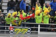 Fans of #77 Dominique AEGERTERSWI MV Agusta Idealavoro Forward during the Gran Premio Motul de la Comunitat Valenciana at Circuito Ricardo Tormo Cheste, Valencia, Spain on 17 November 2019.