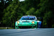 August 4-6, 2011. American Le Mans Series, Mid Ohio. 17 Team Falken Tire, Wolf Henzler, Bryan Sellers, Porsche 997 GT3-RSR, Porsche 4.0 L Flat-6
