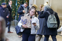 © Licensed to London News Pictures. 21/12/2019. London, UK. Last minute Christmas shoppers take advantage of pre-Christmas bargains in London's Oxford Street. Retailers are expecting a rush of shoppers in the lead-up to Christmas. Photo credit: Dinendra Haria/LNP